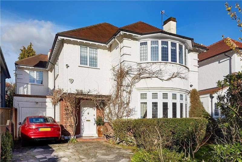 4 Bedrooms Detached House for sale in Sheen Common Drive, Richmond, TW10