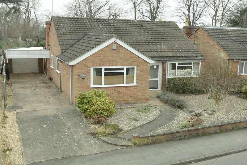 3 Bedrooms Detached Bungalow for sale in Fairway, Market Harborough
