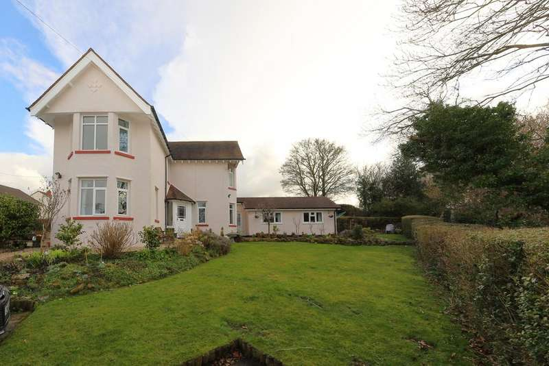 4 Bedrooms Detached House for sale in Plough Road, Goytre, Monmouthshire