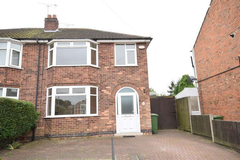 3 Bedrooms Semi Detached House for rent in Princess Street, Narborough, Leicester, LE19 2DH