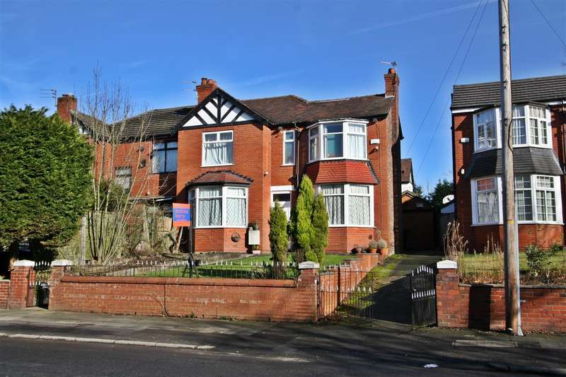 3 Bedrooms Semi Detached House for sale in Park Road, Prestwich