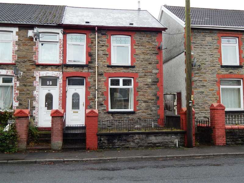 3 Bedrooms End Of Terrace House for sale in Tyntyla Road, Tonypandy