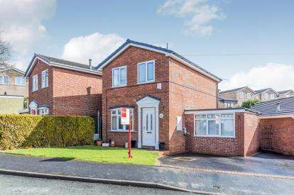 3 Bedrooms Detached House for sale in Mansfield Close, Clayton, Newcastle Under Lyme, Staffs