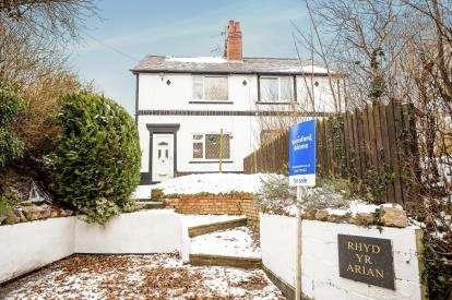 2 Bedrooms Semi Detached House for sale in Llandyrnog, Denbigh, Denbighshire, LL16