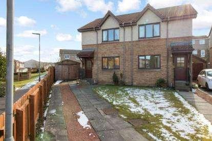 2 Bedrooms Semi Detached House for sale in Milne Park Road, Bannockburn