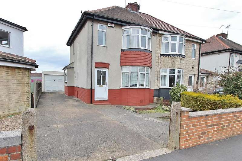 3 Bedrooms Semi Detached House for sale in Charnock Hall Road, Gleadless, Sheffield, S12 3HF