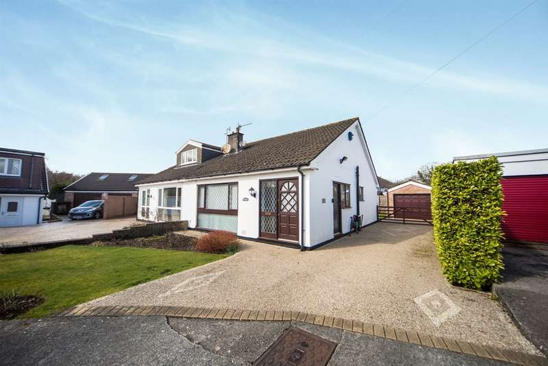 2 Bedrooms Semi Detached Bungalow for sale in Darren Close, Rudry, Caerphilly