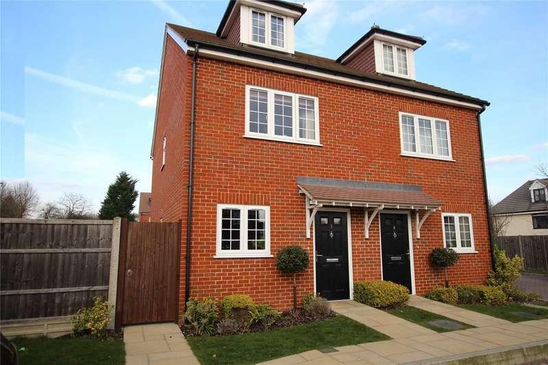 3 Bedrooms Semi Detached House for sale in Foxleigh Grange, Bisley, Woking, Surrey, GU24