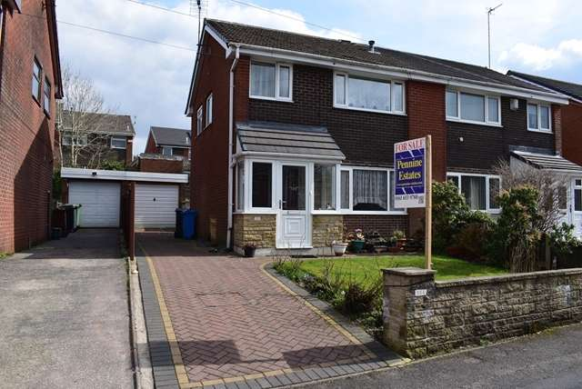 3 Bedrooms Semi Detached House for sale in For sale George Street, Shaw, Oldham OL2 8DR