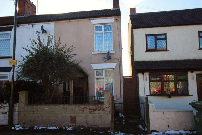 2 Bedrooms Terraced House for sale in Pentrich Road, Ripley, DE5