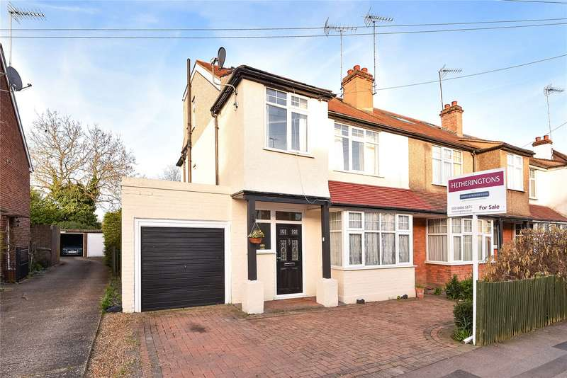 4 Bedrooms Semi Detached House for sale in Potters Road, Barnet