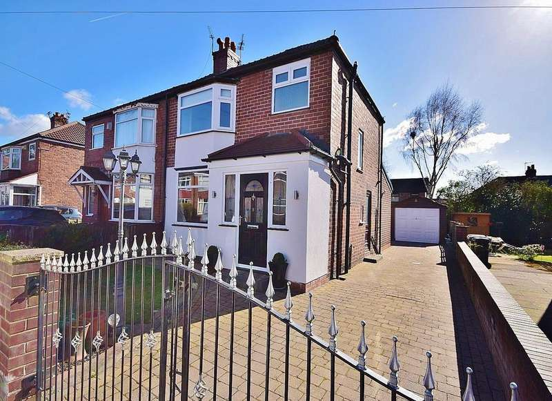 3 Bedrooms Semi Detached House for sale in Bromleigh Avenue, Gatley