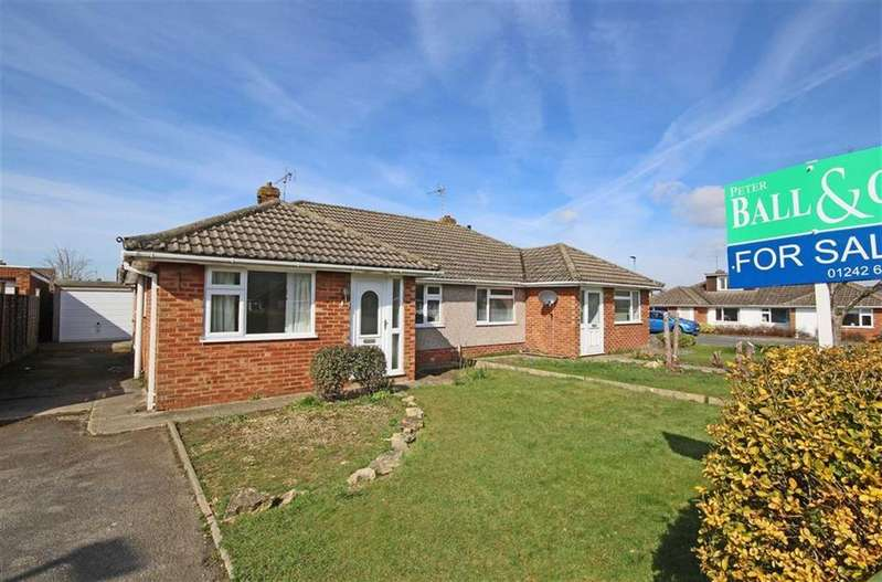 3 Bedrooms Semi Detached Bungalow for sale in Berwick Road, Bishops Cleeve, Cheltenham, GL52