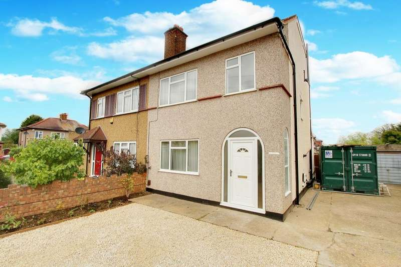 4 Bedrooms Semi Detached House for sale in Adelphi Crescent, Hayes UB4