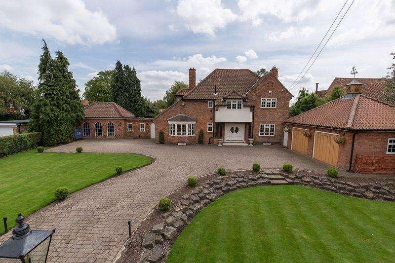 5 Bedrooms Detached House for sale in Naburn Lane, Fulford
