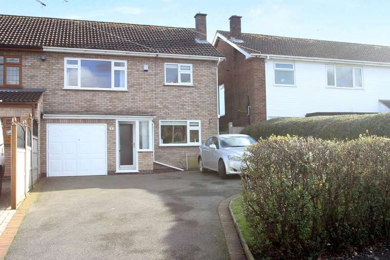 3 Bedrooms Semi Detached House for sale in Station Road, Balsall Common