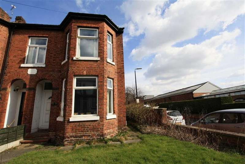 3 Bedrooms End Of Terrace House for sale in Mersey Road, SALE