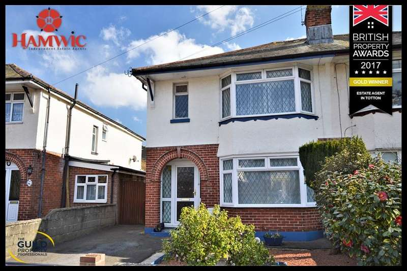 3 Bedrooms Semi Detached House for sale in Brookside Avenue, Regents Park, Southampton SO15