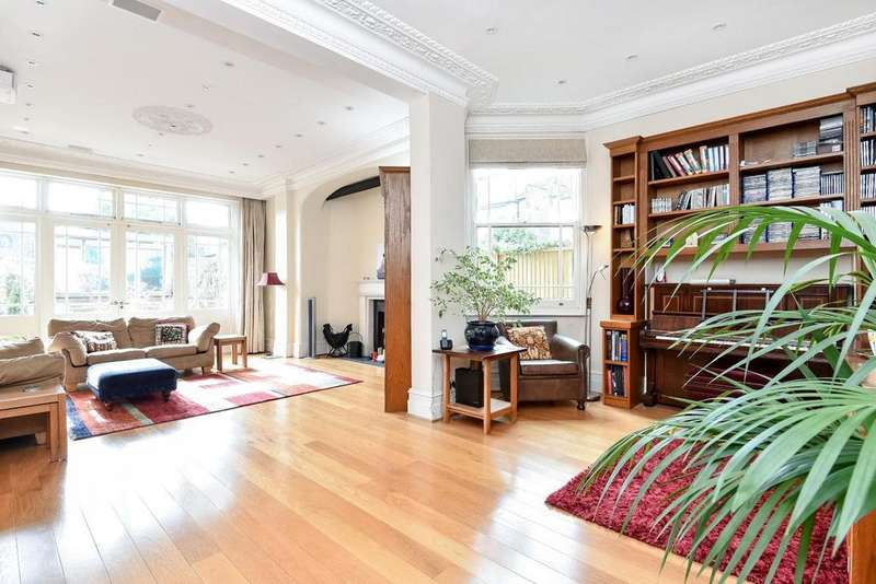 5 Bedrooms Semi Detached House for sale in Kings Avenue, Muswell Hill