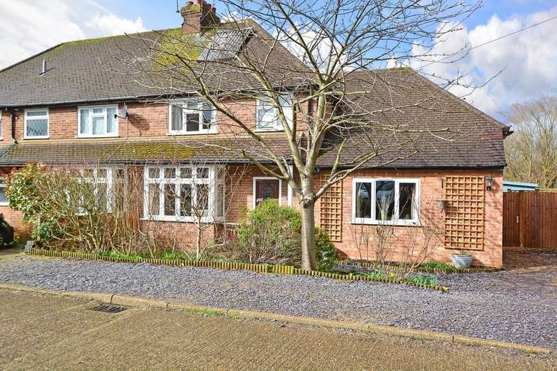 4 Bedrooms Semi Detached House for sale in Liddington New Road, Guildford
