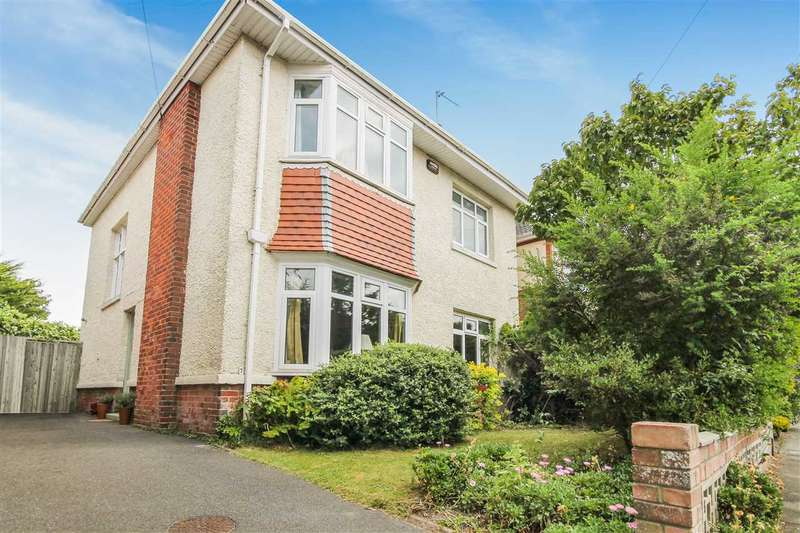 4 Bedrooms Detached House for sale in Mortimer Road, Bournemouth