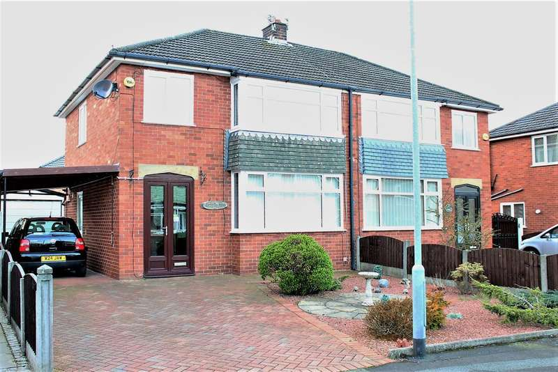 3 Bedrooms Semi Detached House for sale in Fairfax Place, Walton le Dale, Preston
