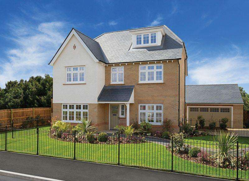 5 Bedrooms Detached House for sale in THE HIGHGATE, PLOT 14, WOODLANDS NOOK, ASTON ON TRENT