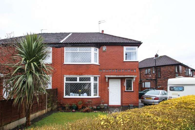 3 Bedrooms Semi Detached House for sale in Hartland Avenue, Urmston, Manchester, M41