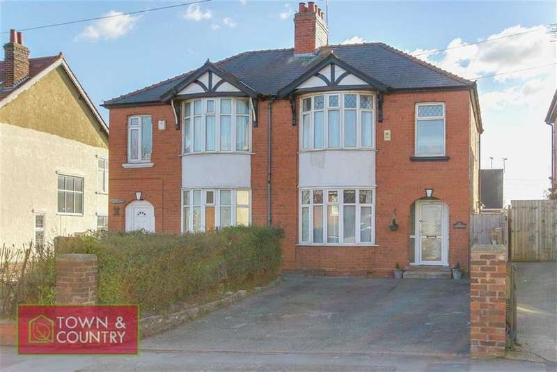 3 Bedrooms Semi Detached House for sale in Church Hill, Connah's Quay, Deeside, Flintshire