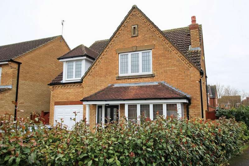 4 Bedrooms Detached House for sale in Hambling Drive, Beverley, HU17