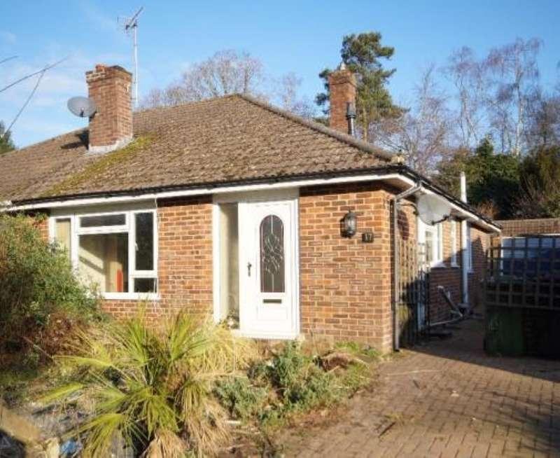 3 Bedrooms Detached Bungalow for sale in Heather Close, Whitehill, Bordon, Hampshire, GU35 9DU