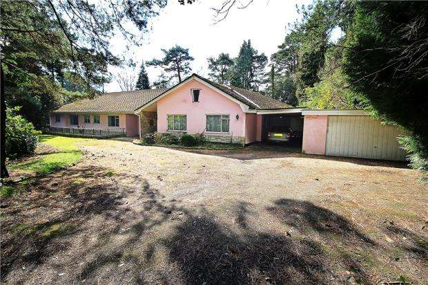 5 Bedrooms Detached Bungalow for sale in Branksome Park, Poole, Dorset, BH13