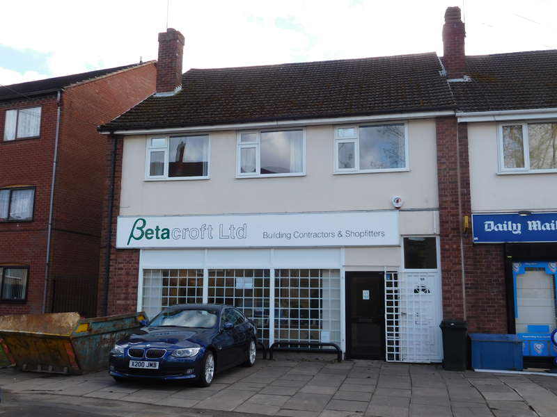 Office Commercial for sale in 198/200 Fenside Avenue,Coventry,West Midlands,CV3 5NJ, Coventry