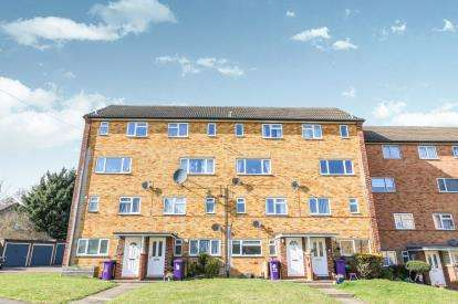 2 Bedrooms Maisonette Flat for sale in Shepherds Mead, Hitchin, Hertfordshire, England