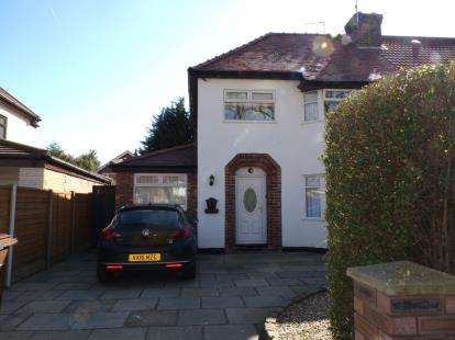 3 Bedrooms Semi Detached House for sale in Sealand Avenue, Formby, Liverpool, Merseyside, L37
