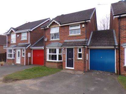 3 Bedrooms Link Detached House for sale in Reynard Close, Redditch, Worcestershire