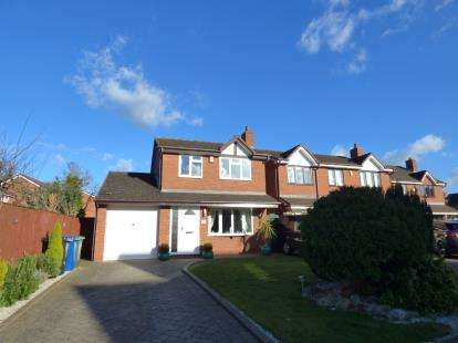 3 Bedrooms Detached House for sale in Lindisfarne, Glascote, Tamworth, Staffordshire