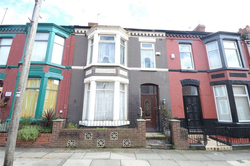 3 Bedrooms Terraced House for sale in Chetwynd Street, Aigburth, Liverpool, L17