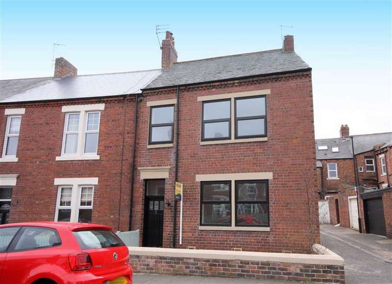 3 Bedrooms End Of Terrace House for sale in Beanley Crescent, Tynemouth, Tyne And Wear, NE30
