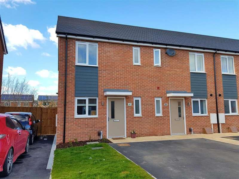 2 Bedrooms Terraced House for sale in Arnfield Drive, Hilton, Derby
