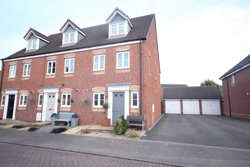3 Bedrooms Semi Detached House for sale in Eden Close, Hilton, Derby
