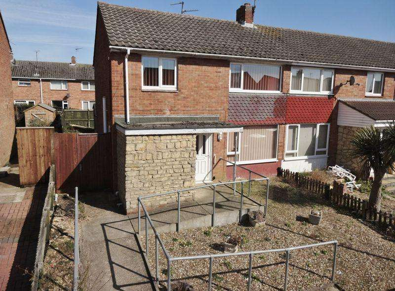 3 Bedrooms End Of Terrace House for sale in Gunthorpe Place, Corby