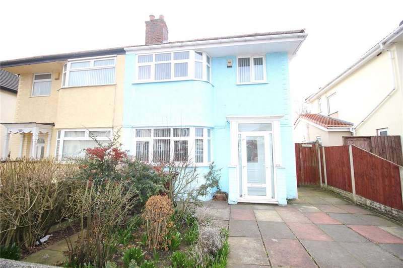 3 Bedrooms Semi Detached House for sale in Pilch Lane, Liverpool, Merseyside, L14