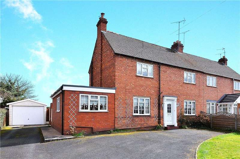 3 Bedrooms Semi Detached House for sale in Gaymore Road, Cookley, Kidderminster, DY10