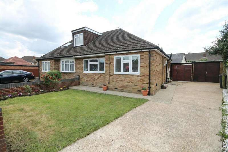 2 Bedrooms Semi Detached Bungalow for sale in Bedfont Close, Feltham, Middlesex