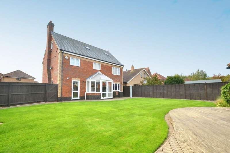 5 Bedrooms Detached House for sale in Larkhill Rise, Rushmere St. Andrew, IP4 5WA