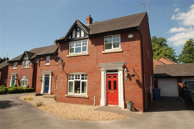 4 Bedrooms Detached House for sale in Castle Walks, Chirk
