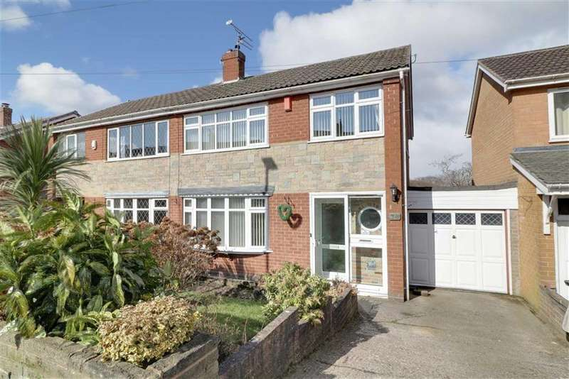 3 Bedrooms Semi Detached House for sale in Chatterley Drive, Kidsgrove, Stoke-on-Trent