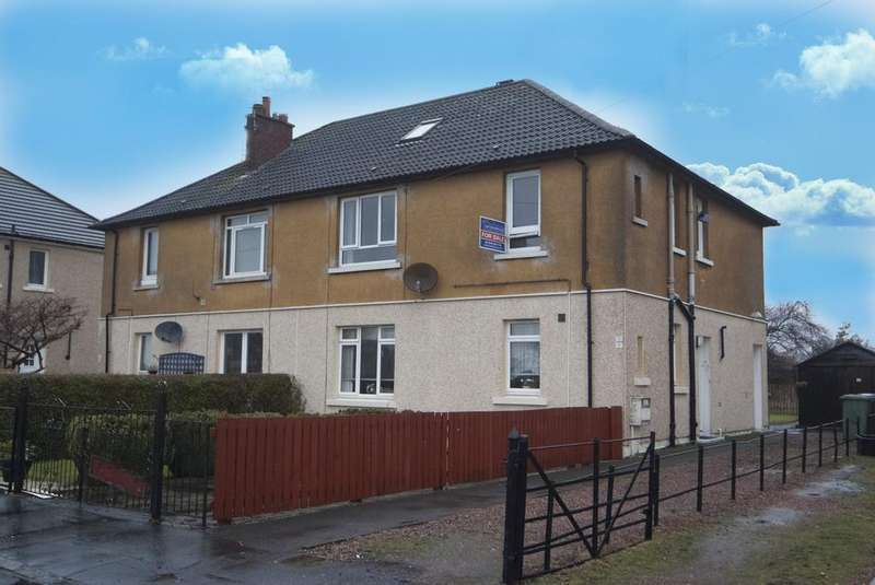 2 Bedrooms Flat for sale in Newton Avenue, Skinflats, Falkirk FK2