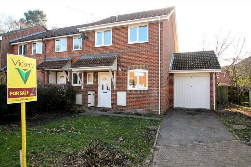 3 Bedrooms Semi Detached House for sale in Laird Court, Bagshot, Surrey